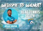 Welcome our new Head Tennis Coach Josiah Sibayan