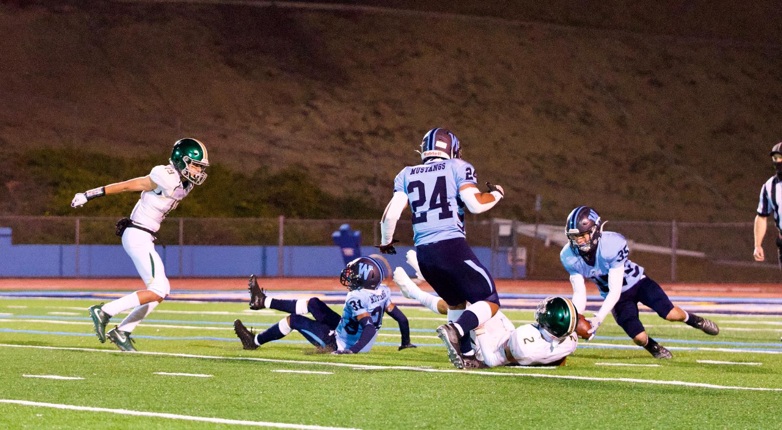 Varsity Football vs. South Hills 2021 Spring