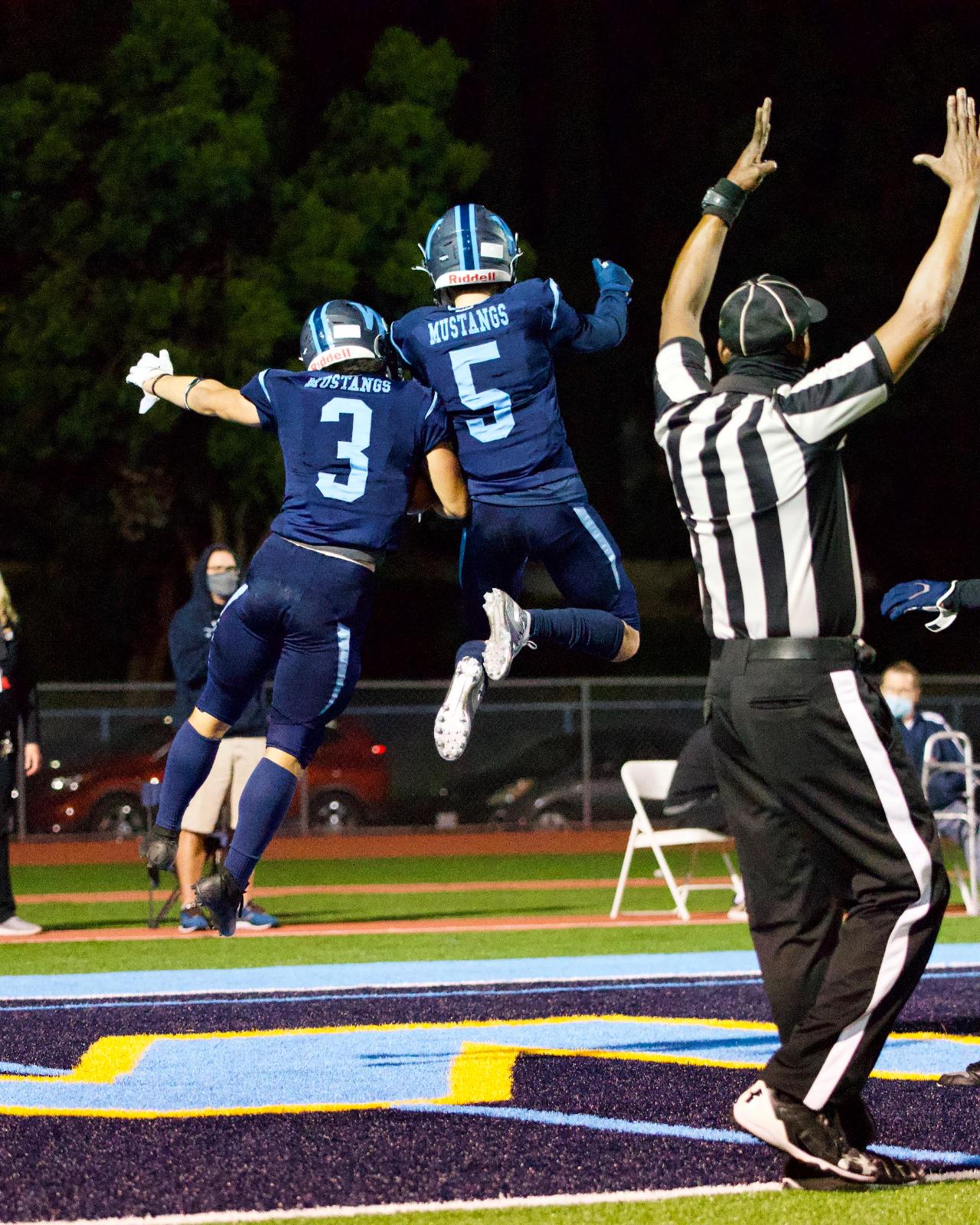 Varsity Football vs. Nogales 2021 Spring