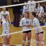 Varsity volleyball vs. Heritage