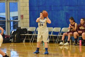 JV2 Girls basketball vs. Forest Grove