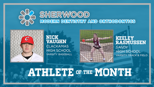 And the Sherwood Modern Dentistry Athlete of the Month is….
