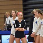 Varsity Girls Volleyball vs. Glencoe
