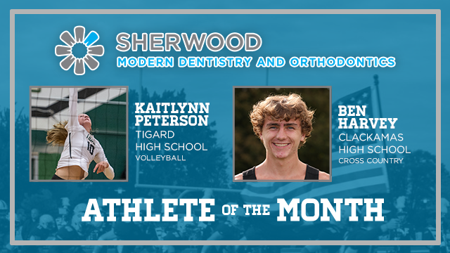 And the Sherwood Modern Dentistry & Orthodontics October Athlete of the Month is….