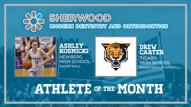 And the Sherwood Modern Dentistry & Orthodontics December Athlete of the Month is….
