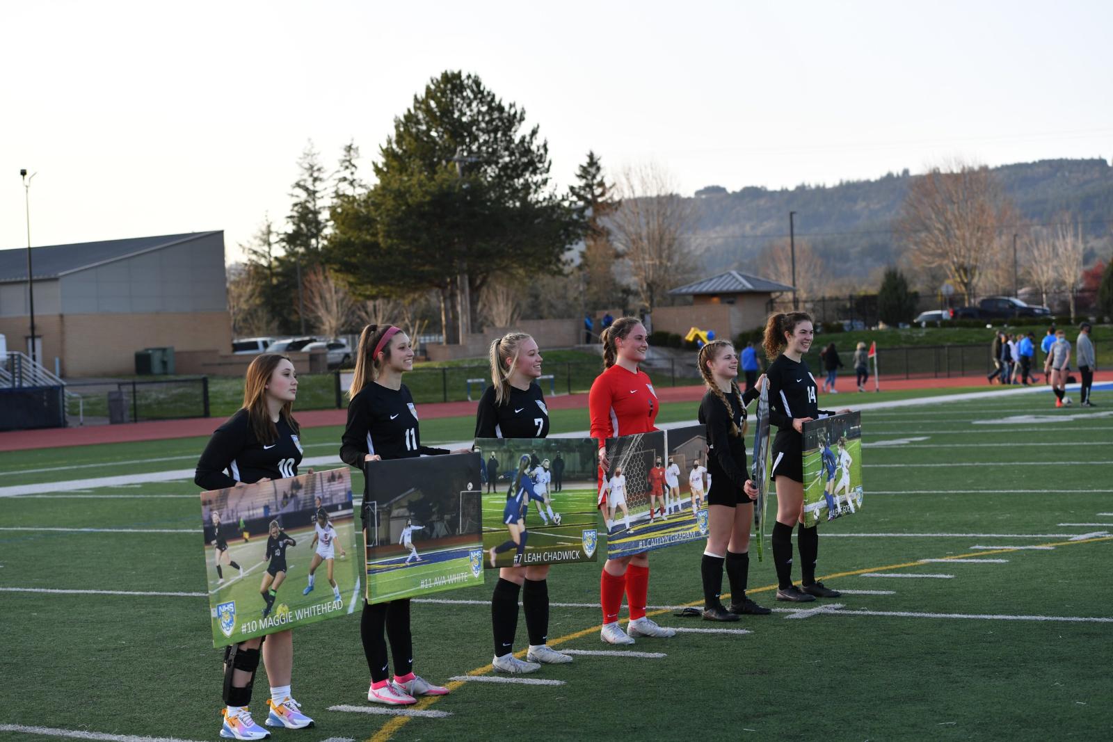 Varsity Girls Soccer vs. St. Mary's