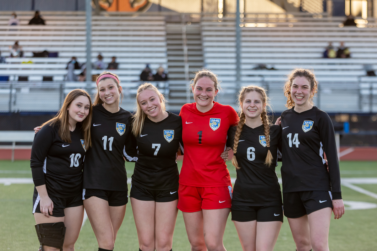 4-6-2021 NHS Girls Varsity Soccer vs. St. Mary's: SENIOR NIGHT