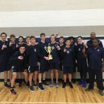 Boys hoops win Holiday Classic