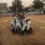 Girls Junior High Softball beats San Tan Charter School 19 – 5