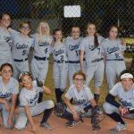 Girls Junior High Softball beats Legacy Tradtional Gilbert 14 – 4