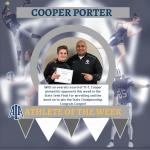 Cooper Porter Named Athlete of the Week