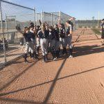 Girls Junior High Softball beats Champions Chandler 17 – 2
