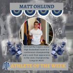 Matt Ohlund Athlete of the Week