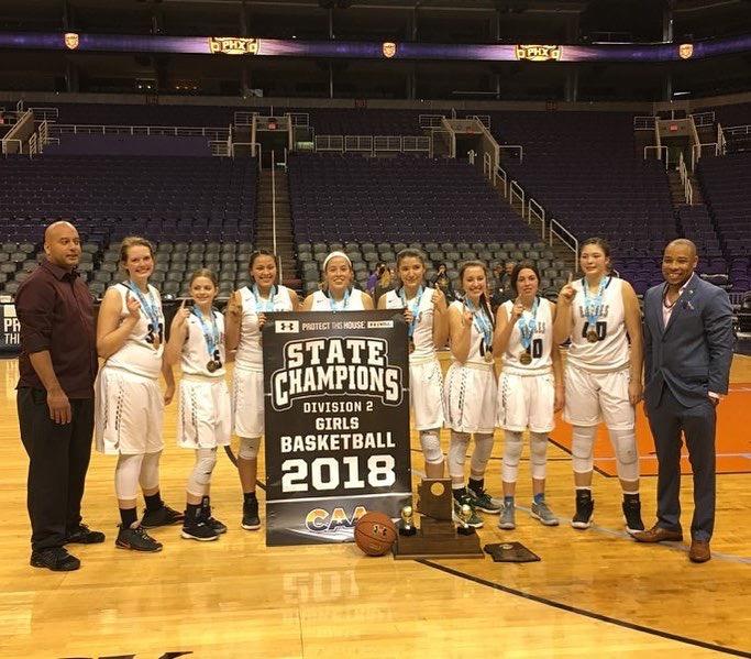 Girls Basketball CAA State Champs!