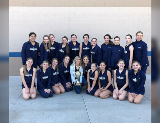 Junior High Cheer Takes 2nd in State