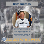 Nielson Takes Home Athlete of the Week