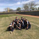 Girls Varsity Softball beats Imagine Preparatory At Superstition 18 – 3