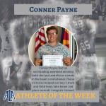 Conner Payne is Athlete of the Week