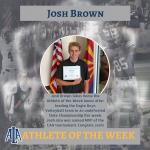 Josh Brown- Athlete of the Week