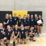 8th Grade Volleyball edges Legacy Gilbert