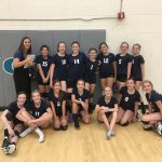 8th grade volleyball jumps on ALA Ironwood