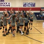 7th grade volleyball sweeps Summit School.