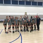 7th Grade Volleyball finishes Silver Runner up at CAA tourney