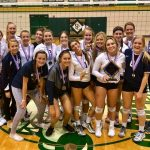 Varsity Volleyball wins Copper Division at TOC