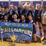 8th Grade Volleyball wins CAA State Championship