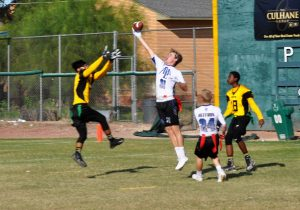 Flag Football State Semifinals vs. Champion South Mountain