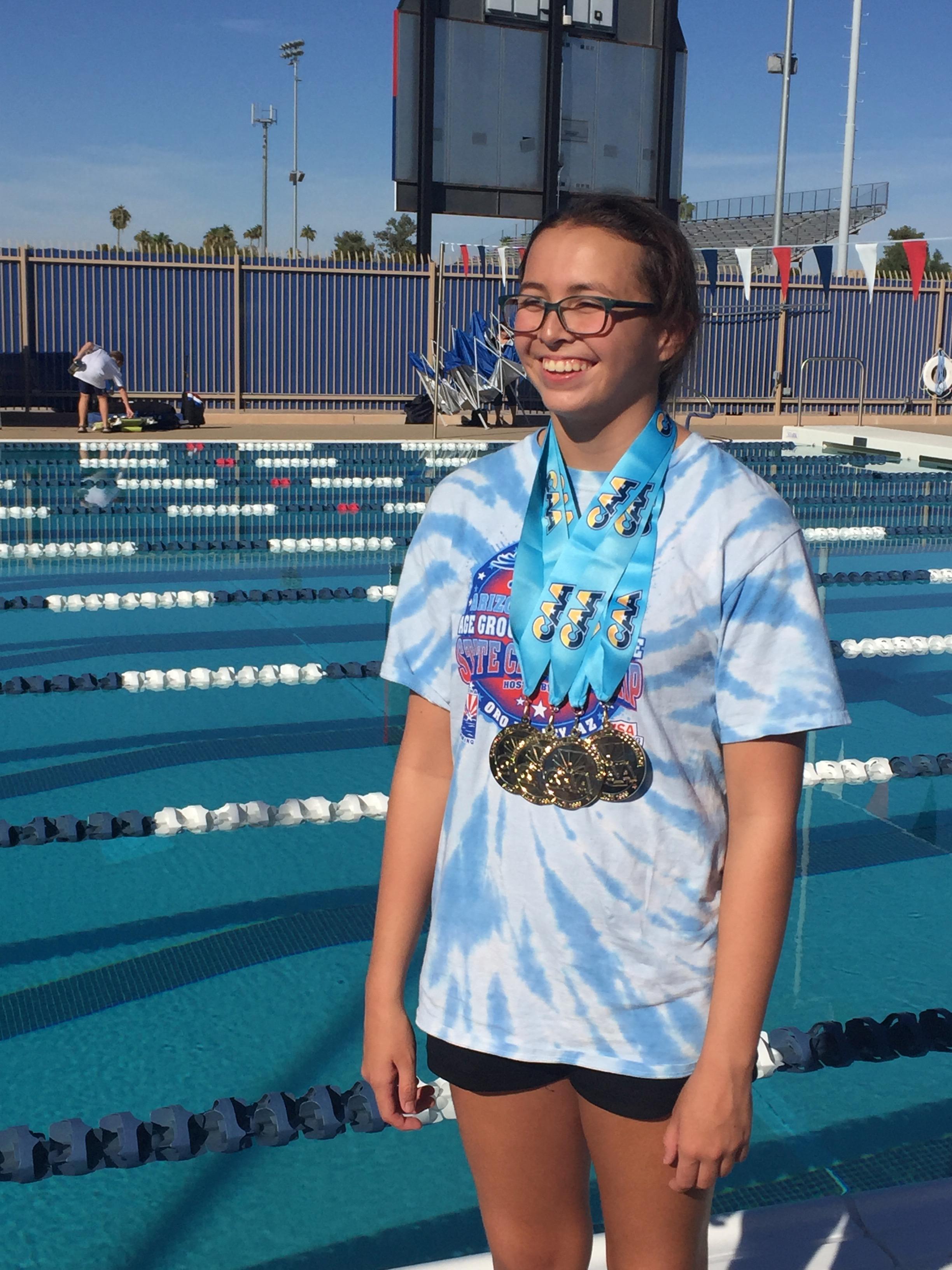 Athlete of The Week- Kaitlyn Bluford