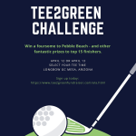 Tee2Green Challenge – Athletic fundraiser