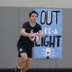 Boys Varsity Volleyball beat St. Mary's last night 25-15, 25-19 and 25-8