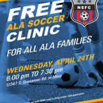 Upcoming Event: FREE Soccer Clinic