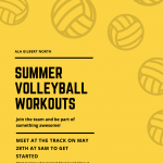 Girls Volleyball Summer Schedule