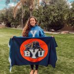 Congratulations to BYU's New Cougarette, Maddie Wood!