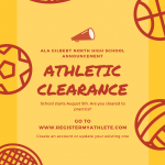 Athletic Clearance 2019-20