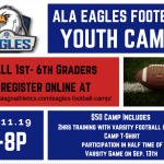 ALA Eagles Youth Football Camp