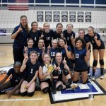 "8th grade Volleyball captures CAA ""Spike It"" tourney"