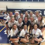 "Varsity Volleyball second at ""Spiketown"" tourney"