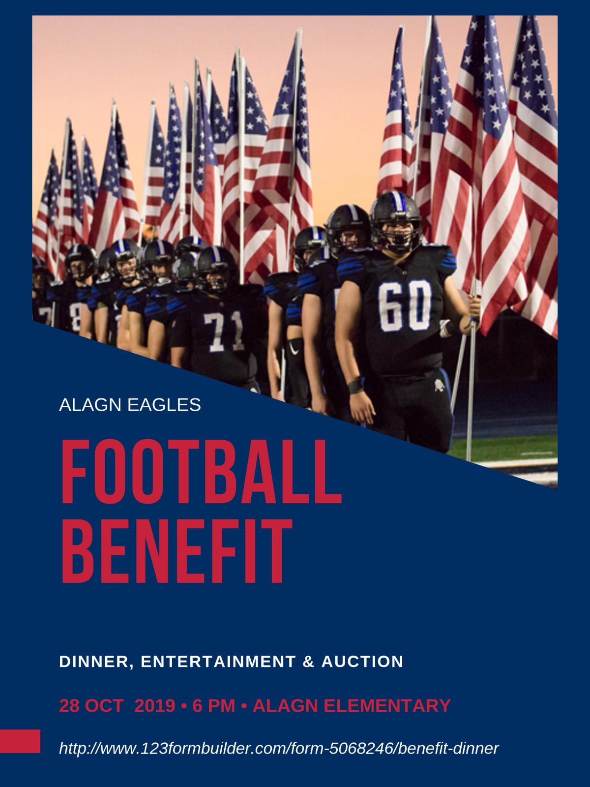 ALA GN Football Benefit Dinner