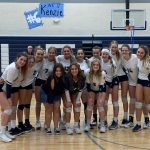Varsity Volleyball rolls on Senior Night