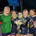 Girls Soccer Senior Night a huge success