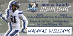 Senior Spotlight – Malakai Williams