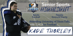 Senior Spotlight – Kade Thorley
