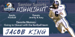 Senior Spotlight – Jacob King