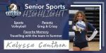 Senior Spotlight – Kalyssa Cauthen