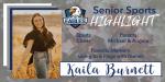 Senior Spotlight – Kaila Burnett