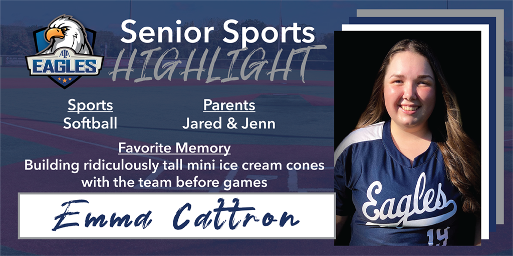 Senior Spotlight – Emma Cattron