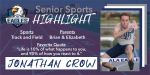 Senior Spotlight – Jonathan Crow